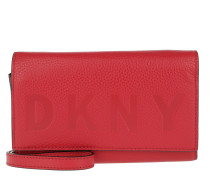 Commuter Wallet On A Chain Rouge Tasche