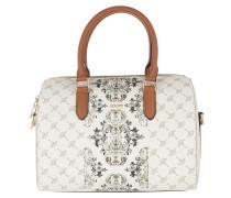 Cortina Grazia Aurora Handbag Offwhite Bowling Bag
