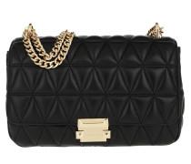 Umhängetasche Sloan LG Chain Shoulder Bag Black