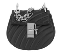 Drew Bijou Quilted Leather Black Tasche