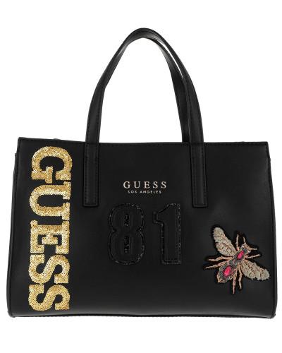 Sienna Society Satchel Bag Black Multi Satchel Bag