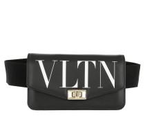 Gürteltasche VLTN Belt Bag Leather Black schwarz