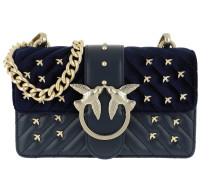 Mini Love Metal Birds Crossbody Bag Blu Iride Tasche
