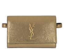 Gürteltasche Monogramme Belt Bag Leather Gold gold