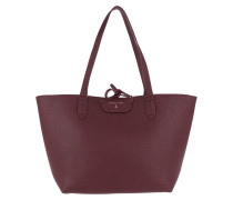 Logo Shopping Bag Double Ruby/Rose Shopper