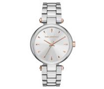 Ladies Aurelie Watch Silver/Silver Uhr