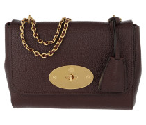 Umhängetasche Lily Crossbody Bag Small Leather Oxblood rot