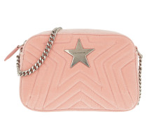Umhängetasche Stella Star Matelassé Mini Camera Bag Pink rosa