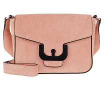 Umhängetasche Ambrine Cross Suede Crossbody Bag New Pivoine rosa