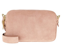 Umhängetasche Alpha Suede Crossbody Bag New Pivoine rosa