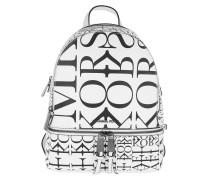 Rucksack Rhea Zip Medium Backpack Optic White/Black weiß