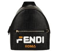 Rucksack Fendimania Backpack Nero schwarz