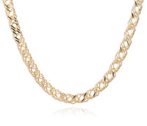 Halskette Chevron Necklace Yellow Gold