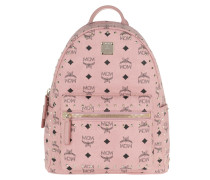 Stark Outline Studs Backpack Small Soft Pink Rucksack