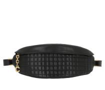 Gürteltasche C Charm Belt Bag Quilted Leather Black schwarz