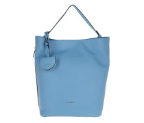 Jamila Bubble Shoulder Bag Azur Hobo Bag