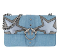 Love Denim Crossbody Bag Azzurro/Argento Tasche