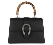 Dionysus Medium Top Handle Bag Black