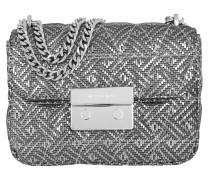 Sloan SM Chain Shoulder Bag Silver