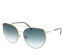 Sonnenbrille MCM146S Sunglasses Shiny Gold/Blue