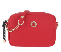 TH Buckle Crossover Tommy Red Tasche