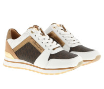 Sneakers Billie Trainer Optic White/Brown bunt