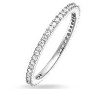 Ring Eternityring Pavé Silver