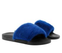 Natural Rubber Sandals Electric Blue Sandalen