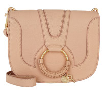 Umhängetasche Hana Crossbody Leather Powder gold