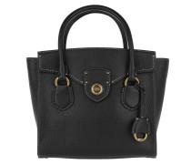 Millbrook Satchel Bag Medium Black Tote