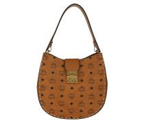 Patricia Studded Outline Visetos Hobo Medium Bag