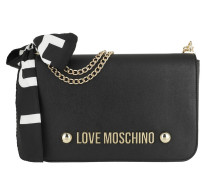 Love Scarf Shoulder Bag Black Tasche