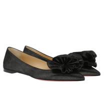 Ballerinas Anemoasea Flat Suede Black schwarz