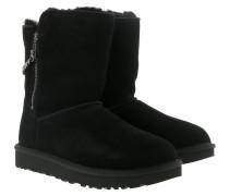 Boots W Classic Short Sparkle Zip Black schwarz