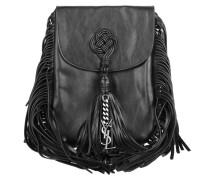 Anita Fringe Umhängetasche Bag Black