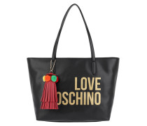 Shopping Bag Tassel Nero Umhängetasche