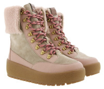 Boots Tyler Fold Over Shearling Boot Oat/Pale Blush beige