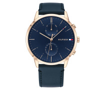 Uhr Multifunctional Watch Men Hunter 1710405 Blue
