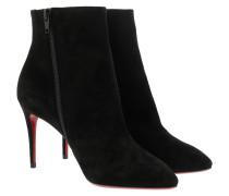 Boots Eloise Booty Veau Velours Black schwarz