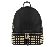 Rhea Zip MD Pyr Stud Backpack Black Rucksack