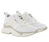 Sneakers Aventur Lux Leather Lace Shoe White