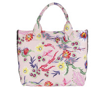 Capasanta Canvas Handle Bag  Orchidea Shopper