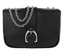 Umhängetasche Paris Shoulder Bag Leather Black schwarz