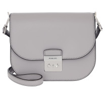 Umhängetasche Sloan Editor Small Saddle Crossbody Bag Pearl Grey grau