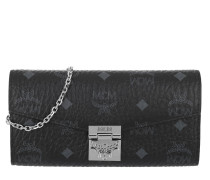 Patricia Visetos Flap Wallet Black