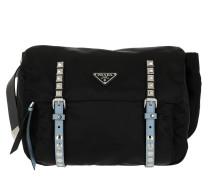 d9e3d39e67a300 Umhängetasche Nylon Belt Bag Nero schwarz