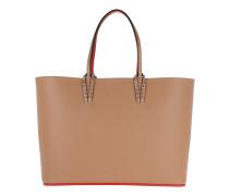 Cabata Tote Bag Leather Nude Shopper