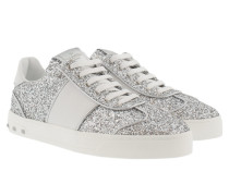 Glitter Sneaker Silver/White Sneakers