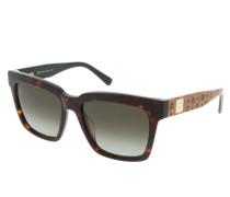 Sonnenbrille MCM646S Tortoise/Cognac Visetos braun