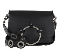 Ring Shoulder Bag Black Tasche
